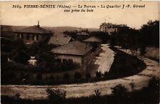 CPA  Pierre-Benite - Le Perron - Le Quartier J.-P. Giraud  (692699)