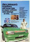 1984 DICK JOHNSON FORD FALCON XE GREENS TUF BATHURST 1 18 A3 POSTER AD BROCHURE