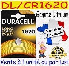 Piles DURACELL DL1616 CR1616 - Vente aussi : CR2032 CR2025 CR2016 CR2430 CR2450