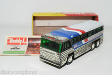 BUDDY L GREYHOUND AMERICRUISER BUS COACH EXCELLENT BOXED RARE SELTEN RARO!!!