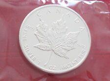 2010 CANADA $5 MAPLE LEAF COIN - RCM Sealed - UNC 1 OZ 99.99% Silver