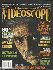Videoscope magazine Fall Horror Harvest edition Best of fright film fests