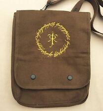 JRR Tolkien Gandolf Elvish Script Bilbo Baggins Lord of the Rings Tablet Bag