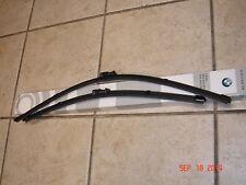 BMW E70 X5 E71 X6 Genuine Front Windshield Wiper Blade Set NEW 2007-09/2011