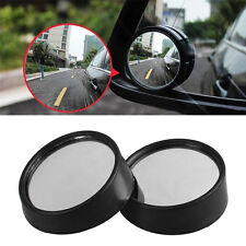 2Pcs Car Side Wide Angle Small Convex Blind Spot Dead Zone Rearview Mirror