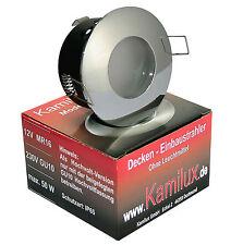 12 Volt / 230 Volt IP65 Einbauspots für LED / Halogen Innen / Außen, Bad Dusche
