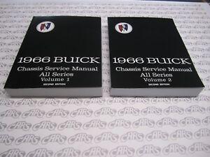 1966 Buick Shop Manual   Electra  GS   LeSabre   Riviera   Skylark  Wildcat