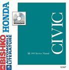 1995 Honda Civic Shop Service Repair Manual CD Engine Drivetrain Wiring OEM