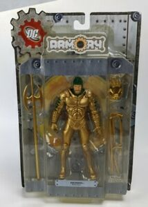 2008 DC Direct Aquaman Armory Series 1 Action Figure 7in Carded