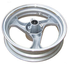 Silver 13 x 3.50 Front Disc Rim (3-spoke,12mm axle) for GY6 150cc Moped scooters