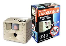 Balcony Gard Ultrasonic Bird Repeller Guard Pest Control Home Owl Pigeon Away