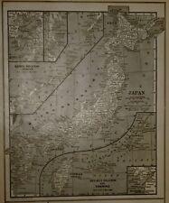 Buy antique asia world atlas ebay lk antique 1922 world atlas map japan kuril islands formosa spain gumiabroncs Gallery