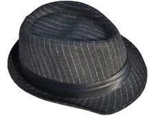 c2404398bffe30 Casual Fedora Trilby Style Upturn Short Brim Cap Hat Black Band