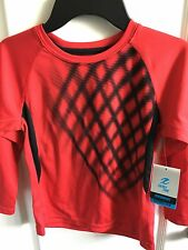 Boys Energy zone Shirt size XS Red New with Tags