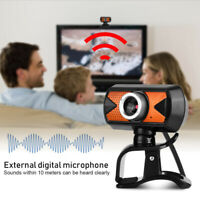 16 Megapixel HD Webcam Web Cam Camera With Mic USB For PC Laptop Video Calling