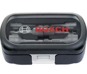 BOSCH 6-13mm 6-Piece Nut Setter/Driver Set 2608551079