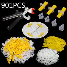 901x Tile Leveling Spacer System Clips & Wedges & Plier Tool Tiling Flooring Set