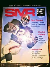 PSA Sports Market Report /Jim Brown/Cleveland/Back Issue Aug '18/ Unopened