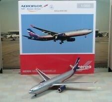 "Herpa Wings Aeroflot ""New Color"" Airbus A330-300  1/200"