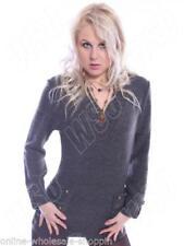 Jersey de mujer de color principal gris talla XL