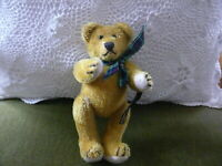 Johanna Haida Germany  Bär 15 cm  Steppke  1995 unbespielt goldbraun