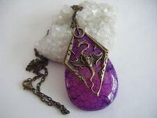 Khaleesi Purple Dragon Vein Necklace Daenerys Game of Thrones Mother of Dragons
