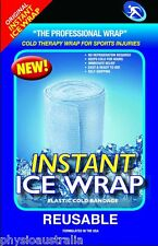INSTANT ICE WRAP, cold therapy wrap for sports injuries, no refrigeration needed