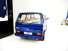 1:18 KK-Scale VW Bulli T3 Multivan Limited Last Edition blau 1992 NEU NEW