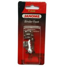 Genuine Binder Foot #202099008 For Janome 9mm Max Stitch Width Machines