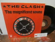 "the clash""the magnificent seven""single7""or.fr.cbs:A1134/cb111 + encart juke-box."