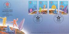 China Hong Kong 2000  Olympic Games 2,  FDC