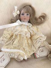 "Bambola 1997 Cleo Faenza ""petra"" porcellana bisquit esemplare n.25/200"