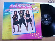 ARABESQUE,HOT DANCING NIGHTS lp m-/vg+ metronome rec. 811995-1 ME Germany 1983