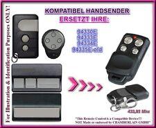 Liftmaster Chamberlain 94330E 94333E 94334E kompatibel ersatz handsender