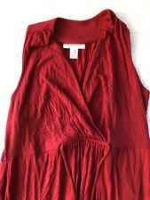 Motherhood Maternity Red Maxi Dress Size Medium