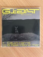 "CALVIN HARRIS FT RAG 'N' BONE MAN ""GIANT"" 7 MIX BRAZILIAN NEW CD PROMO"