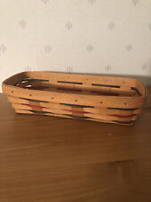 New Lower Price 1998 Longaberger Woven Traditions Cracker Basket