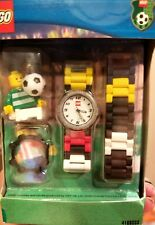 Rare Lego Soccer Kids Watch With Figure 2001 - 416803