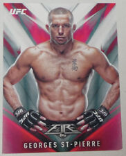 Georges St-Pierre 2017 Topps UFC Fire Card #1 GSP 100 217 167 65 79 94 111 158