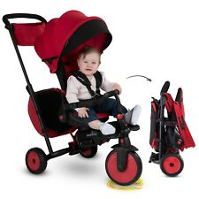 smarTrike 7J Enfant Tricycle évolutif 8-en-1 pliant inclinable Bebe smart trike