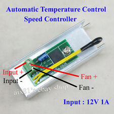 New of 12V 1A Automatic PC CPU Fan Temperature Control Speed Controller