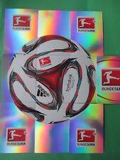 Topps Chrome liga 2014/15 torfabrik bl1 b1-b9 completamente Ball