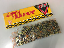 IZUMI V Super Toughness 1/2×1/8x106L Track Racing Chain (Gold)
