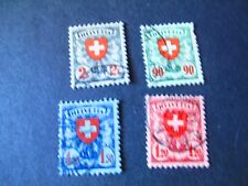 Switzerland #200-03 Used -  WDWPhilatelic