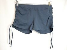 Stonewear Designs Womens Size Large L Shorts Fitness Hot Yoga Exercise Gray