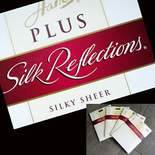 "HANES 2 PLUS  ""SILK REFLECTIONS""  CONTROL TOP Enhanced Toe Pantyhose Brown"