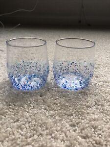 Anthropologie Whiskey Glasses New Set Of 2