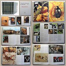 Tous les Animaux du Monde 8 Bde 1970 Zoologie Tiere der Welt Bildband Tierwelt