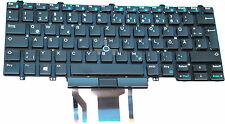 Dell Latitude 5490 Tastatur Keyboard, deutsch,LED beleuchtet Backlit