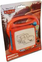 Disney Pixar Cars Kids Boys Small Magnetic Scribbler Sketcher Travel Toy